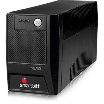 Imagen de SMARTBITT - NOBREAK SMARTBITT 750VA/375W 6 CONT.PUERTO USB LED 35 MIN RESP