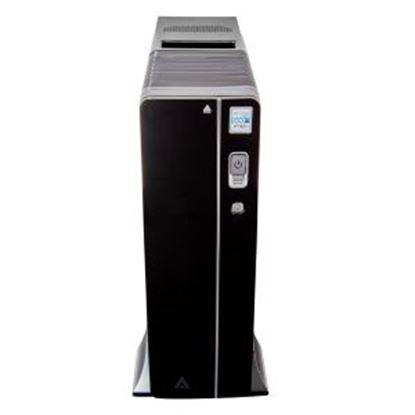 Imagen de EC LINE - GABINETE SLIM M-ATX M-ITX USB 2.0 FUENTE 500W LECTOR SD ACTECK-I