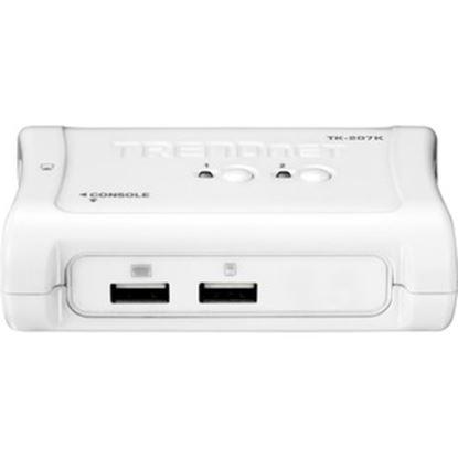 Imagen de TRENDNET - KIT PARA KVM SWITCH USB DE ERTOS CON CONEXIONES VGA Y USB