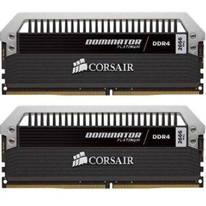 Imagen de CORSAIR - CORSAIR RAM DOMINATOR PLATINUM 16G DIMM DDR4-3200 MHZ (2X8G)