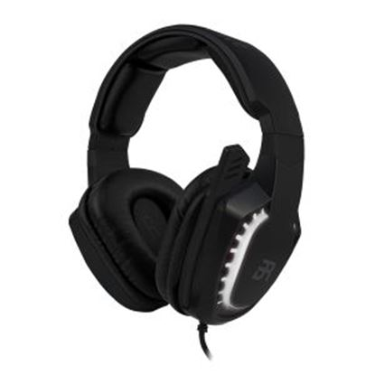 Imagen de EC LINE - HEADSET GAMER BALAM RUSH MAGMA OVER-EAR USB 2 CANALES LED BLANCO