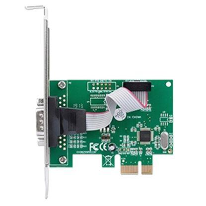Imagen de IC - TARJETA SERIAL PCI EXPRESS 1 PUERTO DB9 BRACKET CORTO Y LARGO