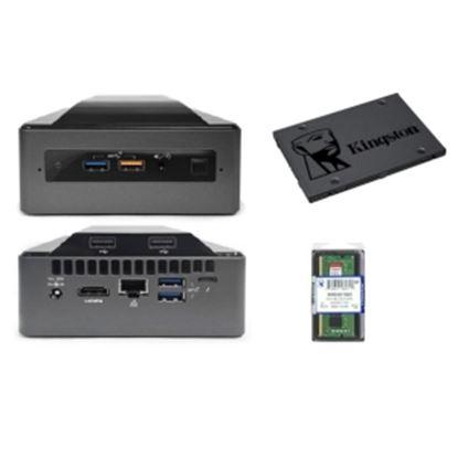 Imagen de INTEL - INTEL MINI PC NUC CORE I5 3.9 + RAM SSD 8G/240G SSD/HDMI/DP/USB-C