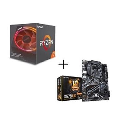 Imagen de KINGSTON - BDL PROCESADOR AMD RYZEN7 3700X + TARJETA MADRE X570 UD AM4 ATX