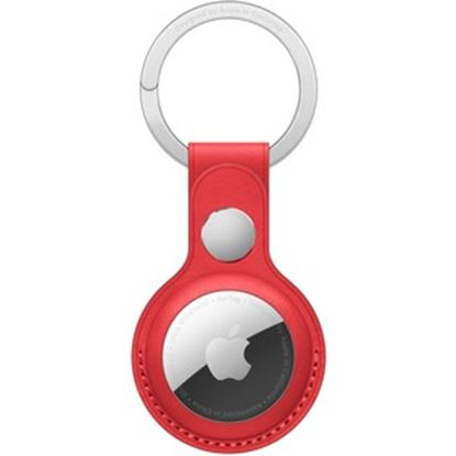 Imagen de APPLE - AIRTAG LEATHER KEY RING (PRODUCT) RED