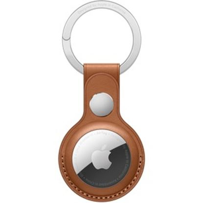 Imagen de APPLE - AIRTAG LEATHER KEY RING SADDLE BROWN