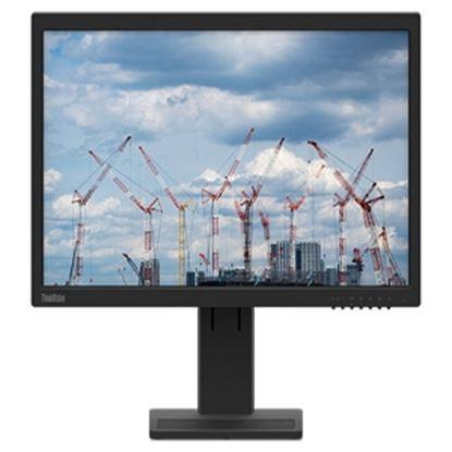 Imagen de LENOVO - E22-20 21.5 FHD IPS BASE AJUST ABLE DISPLAY PORT VGA HDMI 3YW