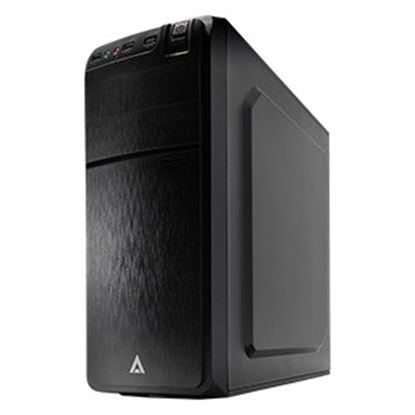 Imagen de EC LINE - GABINETE MEDIA TORRE ATX M-ATX M-ITX USB 2.0 FUENTE 500W ACTECK-I