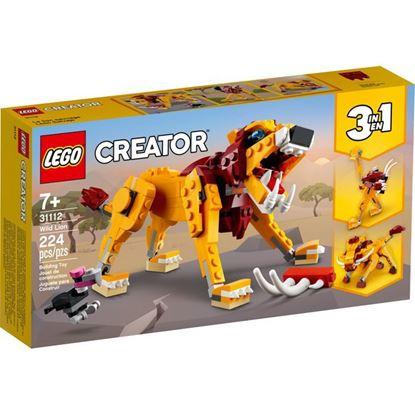 Imagen de LEGO - 31112 CREATOR 3 EN 1 LEON SALVAJE 224 PZAS.