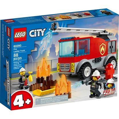 Imagen de LEGO - 60280 CITY CAMION DE BOMBEROS CON ESCALERA 88 PZAS.