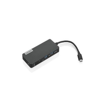 Imagen de LENOVO - ADAPTADOR DE VIAJE LENOVO USB C 1 VGA 1 RJ45 1 HDMI 1 USB 3.0