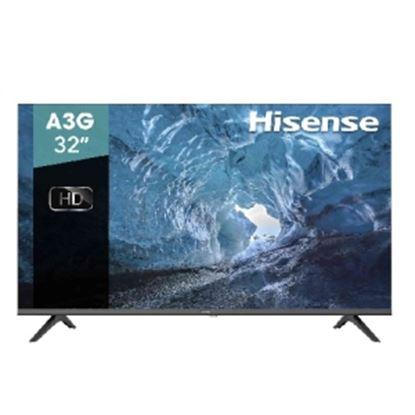 Imagen de HISENSE - TV LED 32 HISENSE BASICA HD 2HDMI 1USB 1 A.GARANTIA