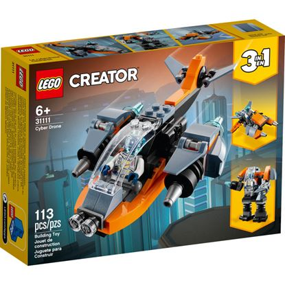 Imagen de LEGO - 31111 CREATOR 3 EN 1 CIBERDRON 113 PZAS.