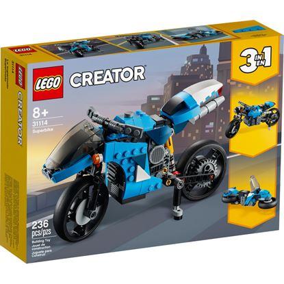 Imagen de LEGO - 31114 CREATOR 3 EN 1 SUPER MOTO 236 PZAS.