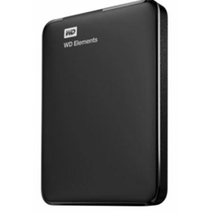 Imagen de GHIA - DD EXTERNO PORTATIL 4TB WD ELEM ENTS NEGRO 2.5/USB3.0/WIN