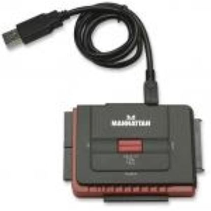 Imagen de IC - CONVERTIDOR HDD USB A IDE Y SATA 1.5 GBPS HASTA 5.25