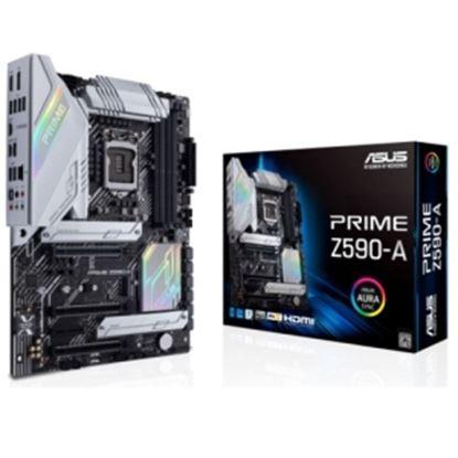 Imagen de ASUS - TARJETA MADRE ASUS PRIME Z590-A LGA 1200 ATX PCIE 4/HDMI/DP/DDR4