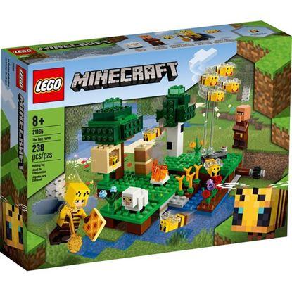 Imagen de LEGO - 21165 MINECRAFT LA GRANJA DE ABEJAS 238 PZAS.