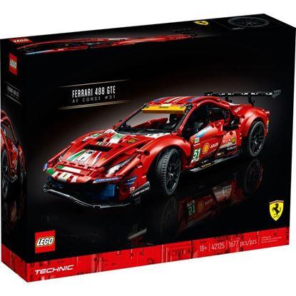 Imagen de LEGO - 42125 TECHNIC FERRARI 488 GTE AF CORSE 51 1677 PZAS
