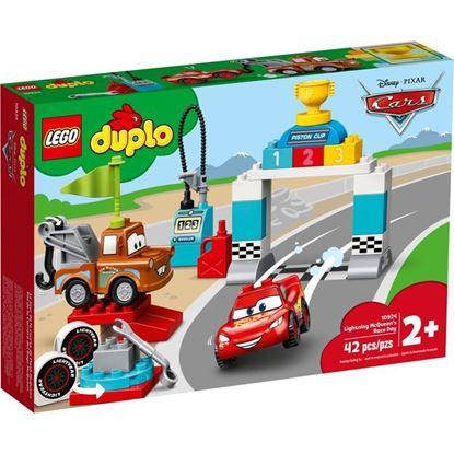 Imagen de LEGO - 10924 DUPLO DIA DE LA CARRERA DEL RAYO MCQUEEN 42 PZAS
